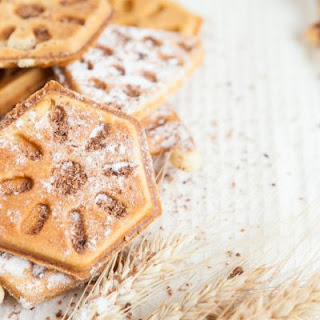 Simple Shortbread Waffles