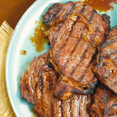 Beer And Brown Sugar Ribeye Steak