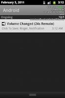 Screenshot of Volume Locker