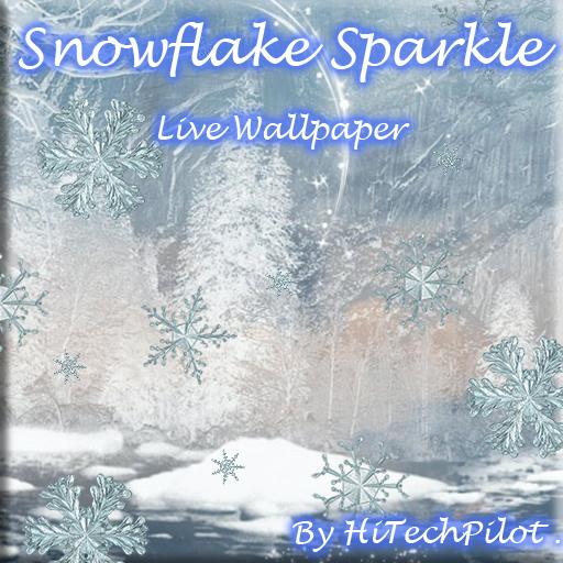 Snowflake Sparkle Ice LOGO-APP點子