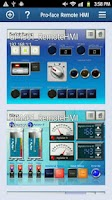 Screenshot of Pro-face Remote HMI