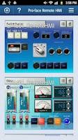 Screenshot of Pro-face Remote HMI