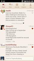 Screenshot of GupShup Messenger