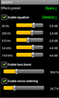 Screenshot of AudioPlayer