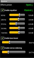 Screenshot of AudioPlayer