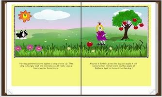 Screenshot of Storytime, Princess Esther