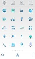 Screenshot of Diamond sky dodol theme
