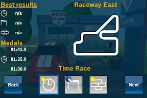 Screenshot of Bosch Car Service Racing