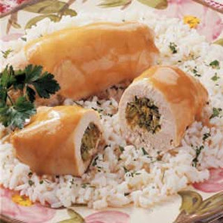 Broccoli-Stuffed Chicken