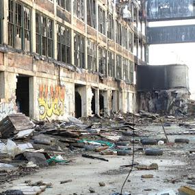 Notes for my next CBN piece:  Half of the citizens of Detroit are functionally illiterate.  The city's murder rate is higher than that of Colombia. by Chuck Holton - Buildings & Architecture Other Exteriors