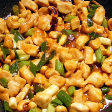 Chinese Chicken Breast with Peanuts