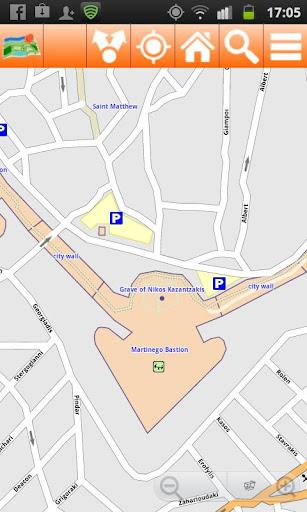 Crete Offline mappa Map