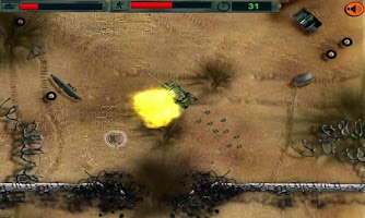 Screenshot of Tank Battle