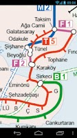 Screenshot of Istanbul Metro & Tram Map Free