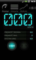 Screenshot of Speedometer PRO