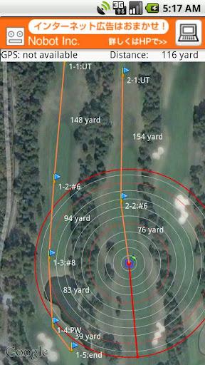 GPSゴルフマップLite