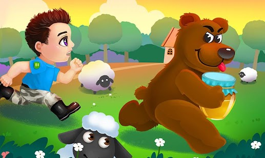 Baby Forest Chase - Honey Bear - screenshot