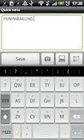 Screenshot of Chiclet - HD Keyboard Theme