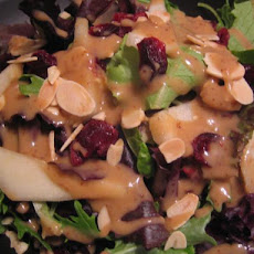 Spinach Salad With Pears, Almonds and Cranberries Ww 4 Pts