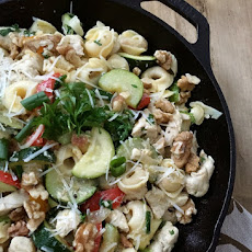 30 Minute Chicken Tortellini Skillet