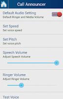 Screenshot of Caller Name Announcer - Talker