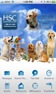 Humane Society of Canada - screenshot
