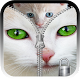 Kitty zipper screen unlock