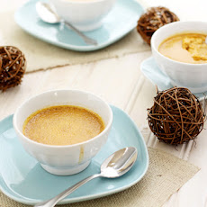 Pumpkin Custards with Ginger and Cinnamon
