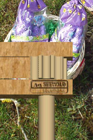 Wooden Easter Ratchet