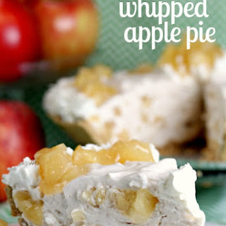 Incredible Whipped Apple Pie! (The perfect no bake dessert!)