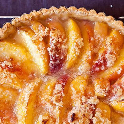 ... crust basil pesto crust baked peaches with an almond crust mango apple