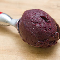 Blueberry Ginger Sorbet
