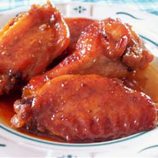 Sweet and Gooey Chicken Wings