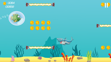 Screenshot of Underwater Fish Adventure Game