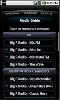 Screenshot of Big R Radio - iRadioSuite