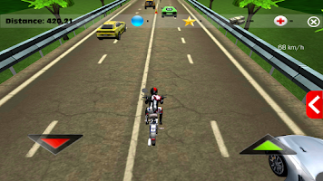 Screenshot of Racing Bike Free