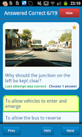 Screenshot of Driving Theory Test