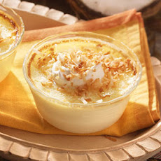 Baked Coconut Custards