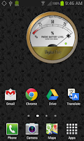Screenshot of Battery Meter Widget