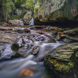Stream by Jeb Buchman - Landscapes Waterscapes ( water, stream, waterscape, waterfall, rocks, river )