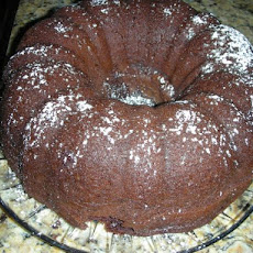 Kicked up Chocolate Chip Bundt Cake