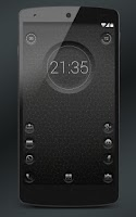 Screenshot of 7null clock zooper widget