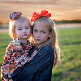 sisters by Carole Brown - Babies & Children Child Portraits