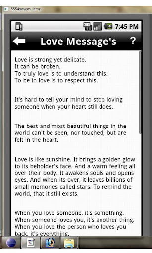 love-tips for android screenshot