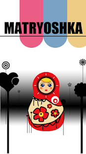 Matryoshka doll LiveWallpaper - screenshot