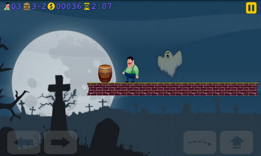 peasman-run-and-jump for android screenshot