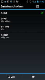 Vibrating Alarm for Smartwatch - screenshot