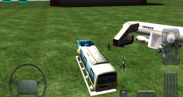 Screenshot of Airport Bus Simulator Parking