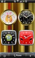 Screenshot of Cat Analog Clocks Full ver.