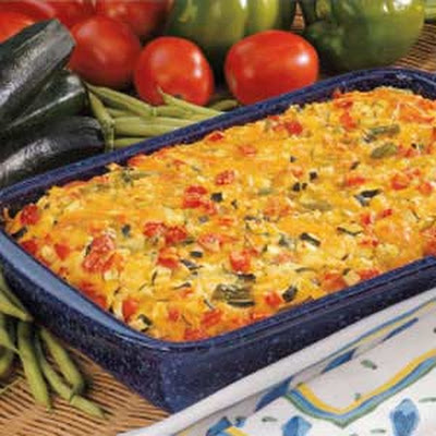 Colorful Vegetable Bake